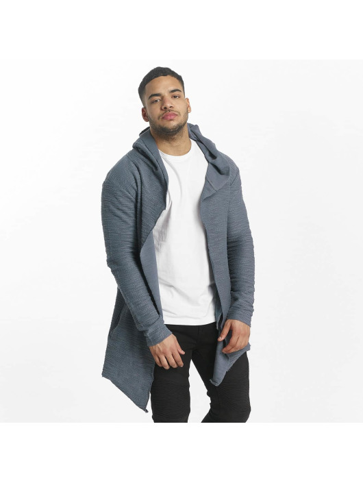 Herren Sixth June Männer Strickjacke With Hood blau | 3614320147641