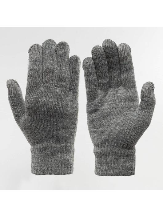 Damen,Herren Pieces Männer Frauen Handschuhe New Buddy Smart grau | 5713449255546