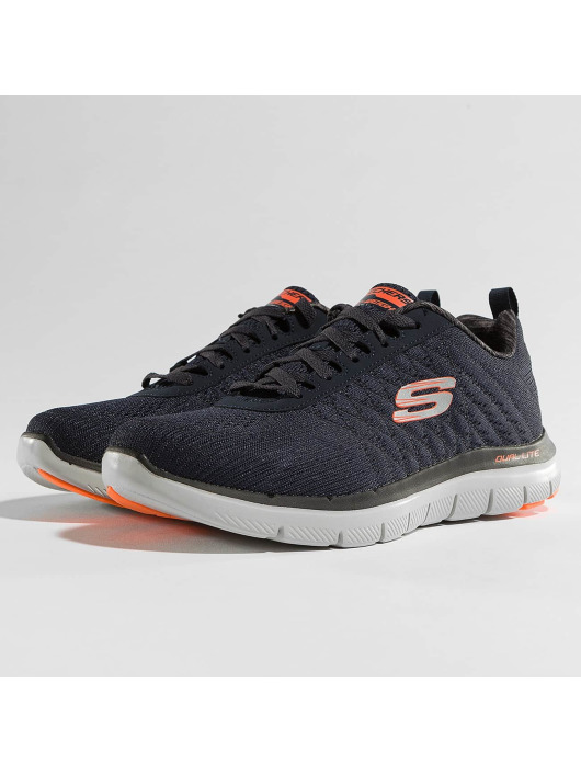 Herren Skechers Männer Sneaker The Happs Flex Advantage 2.0 blau | 190211709066