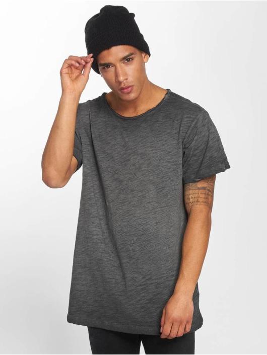 Herren Urban Classics Männer T-Shirt Cold Dye schwarz | 4053838266854