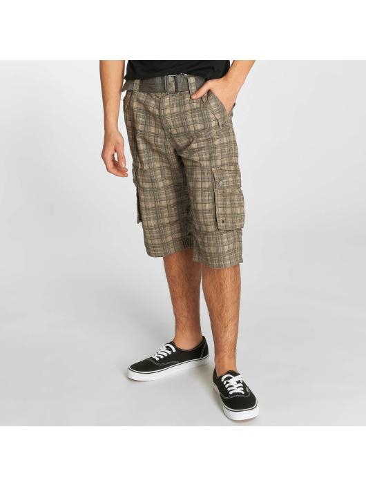 Herren Sublevel Männer Shorts Cargo grau | 4058427083171