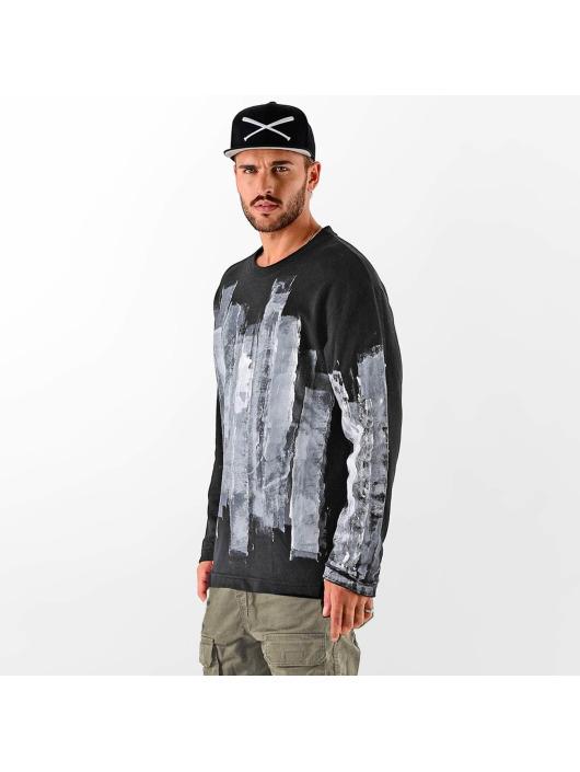 Herren VSCT Clubwear Männer Pullover Painted schwarz | 4251360163812