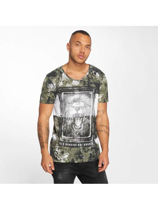 Herren trueprodigy Männer T-Shirt Lion khaki | 4057124046960