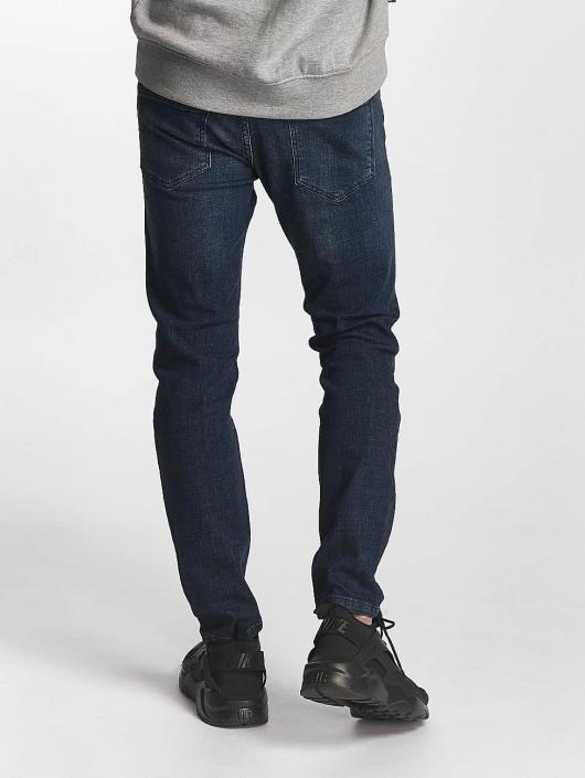 2Y dżinsy przylegające Harrison niebieski