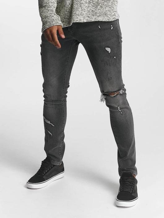 2Y Jean slim William gris