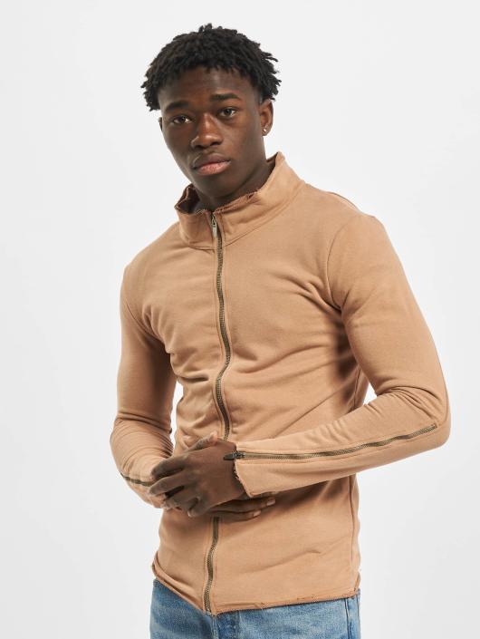 2Y Lightweight Jacket Sweat brown