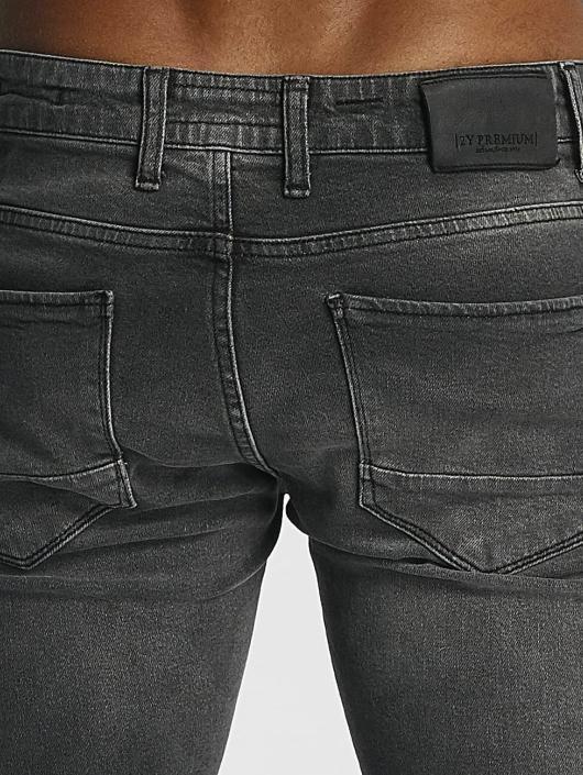 2Y Slim Fit -farkut William harmaa
