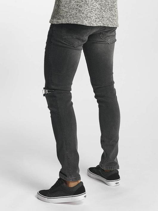 2Y Slim Fit Jeans William grijs