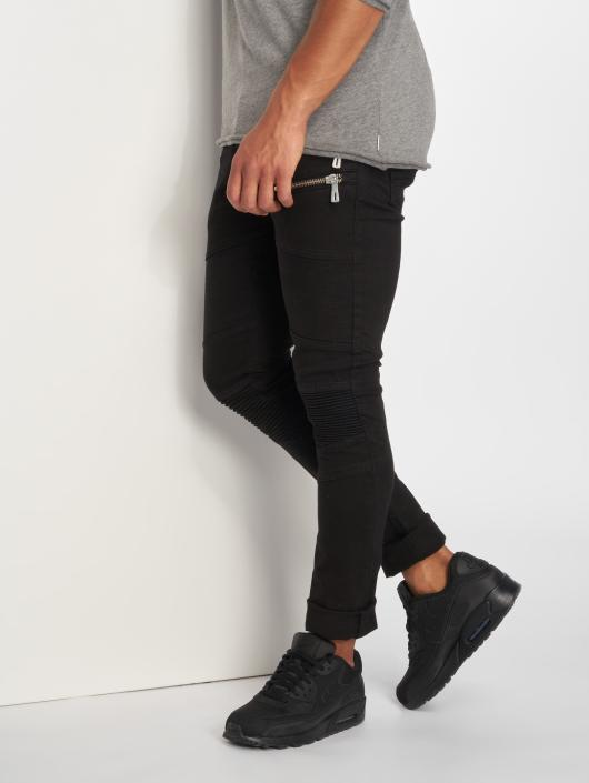 2Y Slim Fit Jeans Rock schwarz