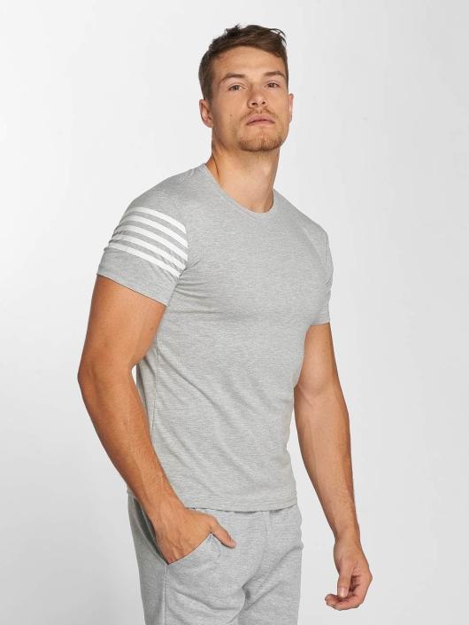 Aarhon Anzug Stripes grau