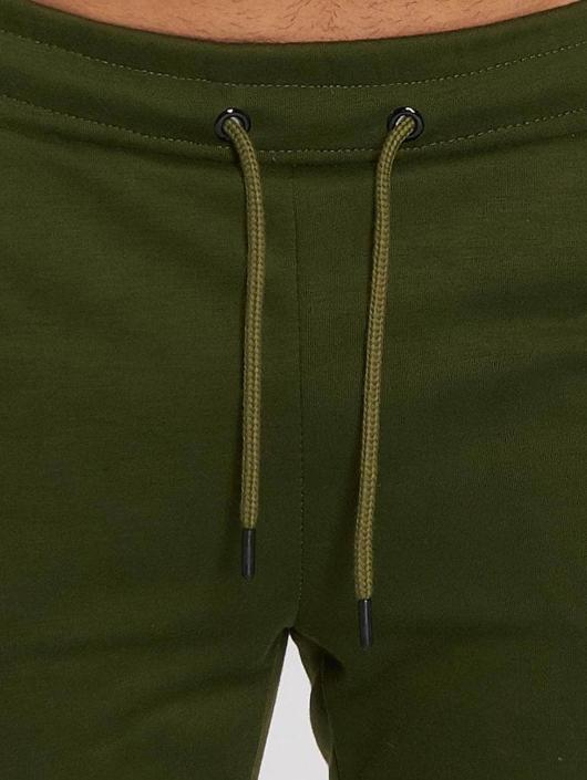 Aarhon Anzug Coloured Stripes khaki