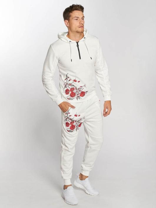 Aarhon Anzug Roses weiß