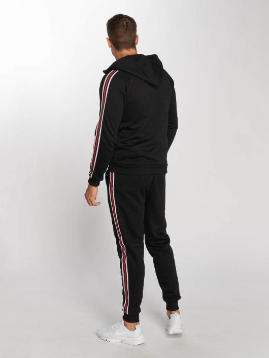 Aarhon Ensemble & Survêtement Coloured Stripes noir