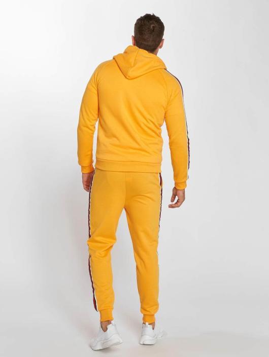 Aarhon Ensemble & Survêtement Coloured Stripes orange