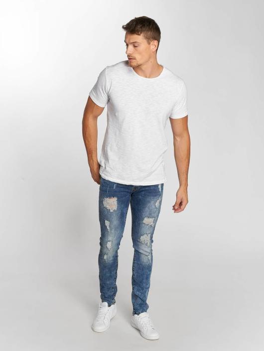 Aarhon Jeans straight fit Dark Washed blu