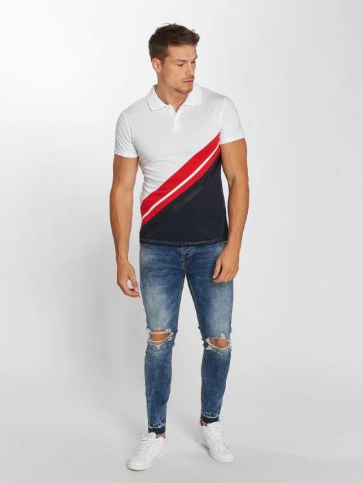 Aarhon Polo Diagonal blanc