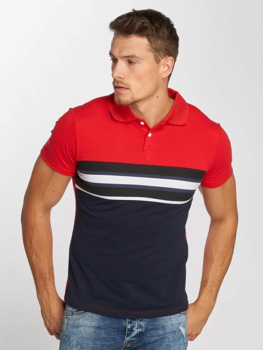 Aarhon Polo Two Colours rouge