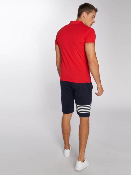 Aarhon Poloshirt Block red