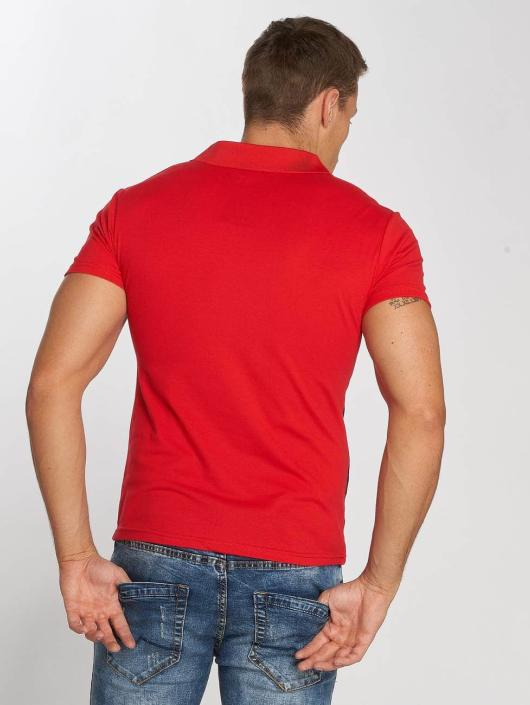 Aarhon Poloshirt Two Colours rot