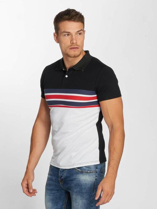 Aarhon Poloshirt Two Colours schwarz