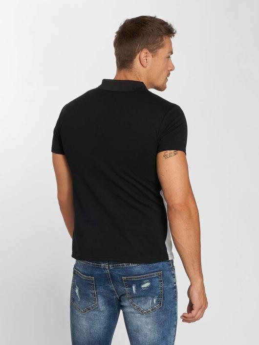 Aarhon Poloshirt Two Colours schwarz
