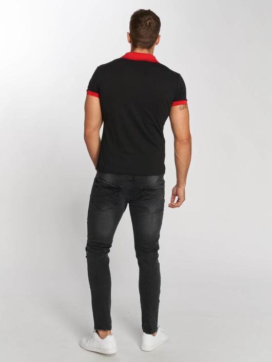 Aarhon Poloshirt Basic schwarz