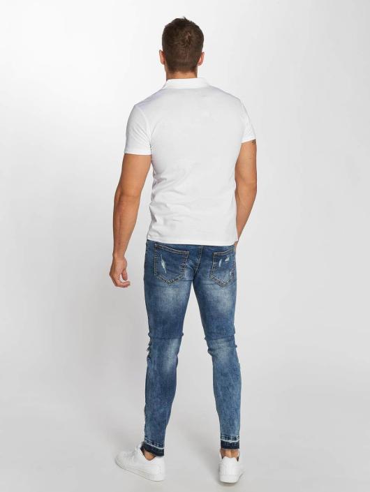 Aarhon Poloshirt Block weiß