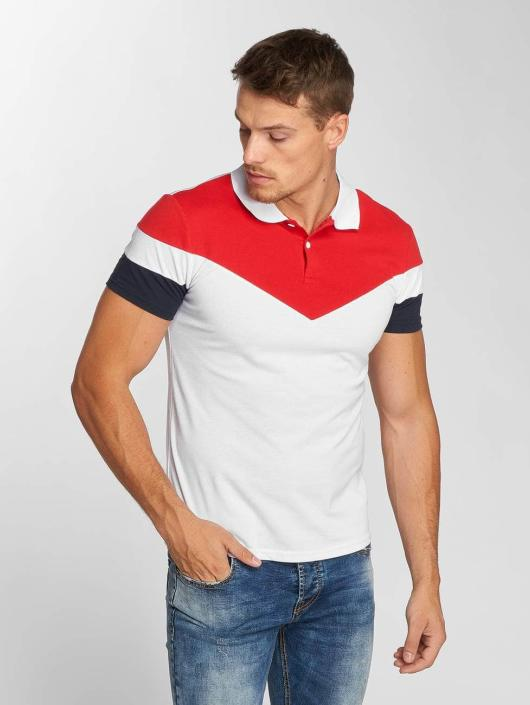 Aarhon Poloshirt Tricolor white