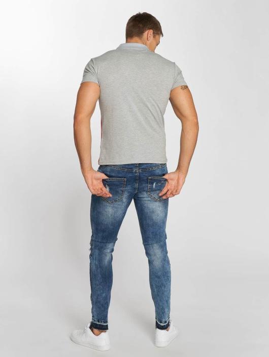 Aarhon Poloskjorter Diagonal grå