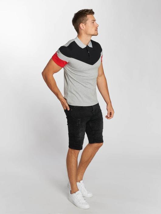 Aarhon Poloskjorter Tricolor grå