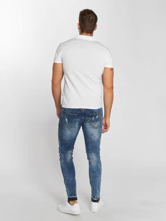 Aarhon Poloskjorter Diagonal hvit