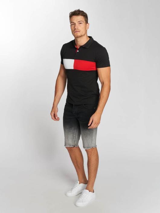 Aarhon Poloskjorter Block svart