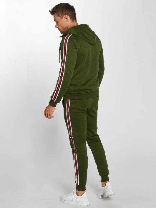Aarhon Sety Coloured Stripes kaki