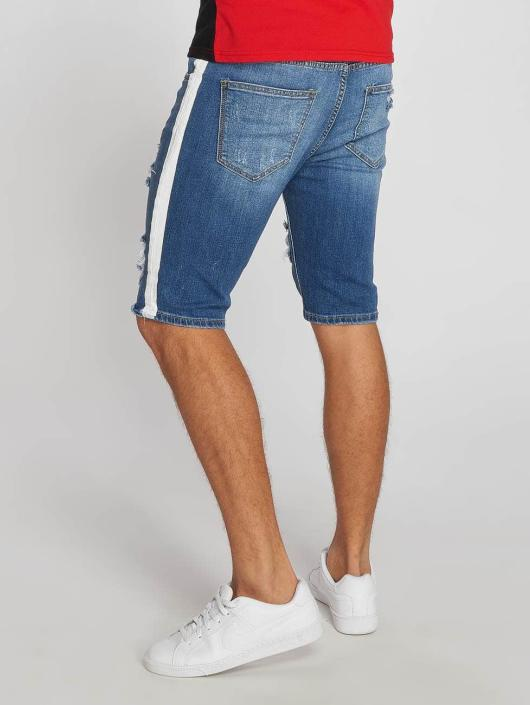 Aarhon Shorts Stripe blau