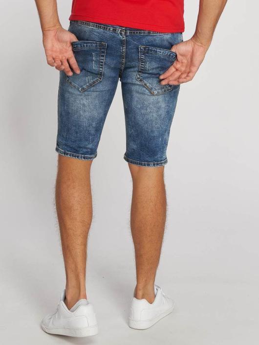 Aarhon Shorts Destroyed blau
