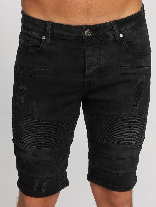 Aarhon shorts Ripp zwart