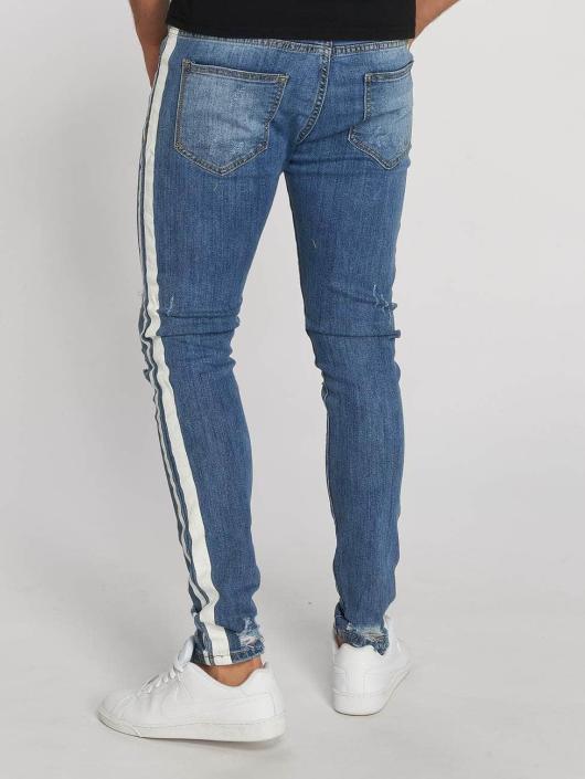 Aarhon Slim Fit Jeans Stripes blue
