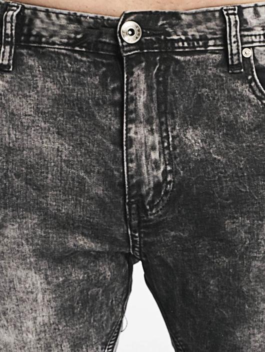 Aarhon Slim Fit Jeans Nizza svart