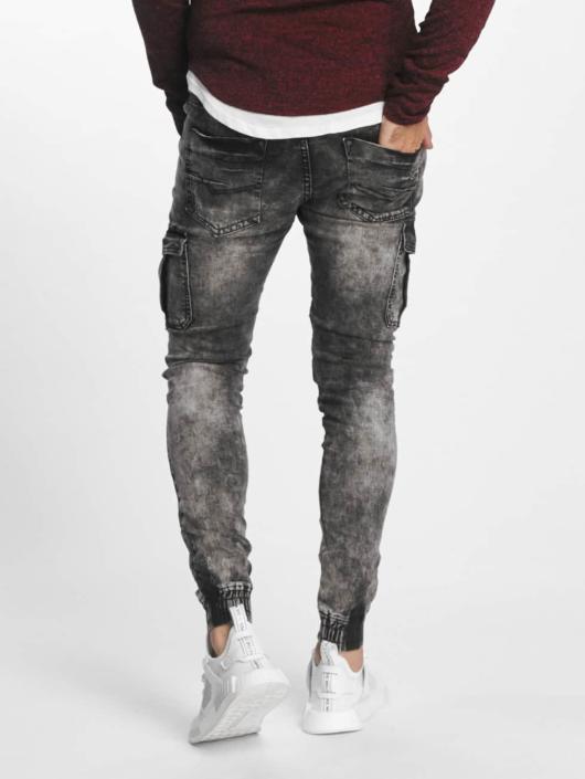 Aarhon Slim Fit Jeans Nizza zwart