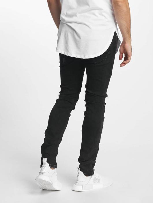 Aarhon Slim Fit Jeans Laszio zwart