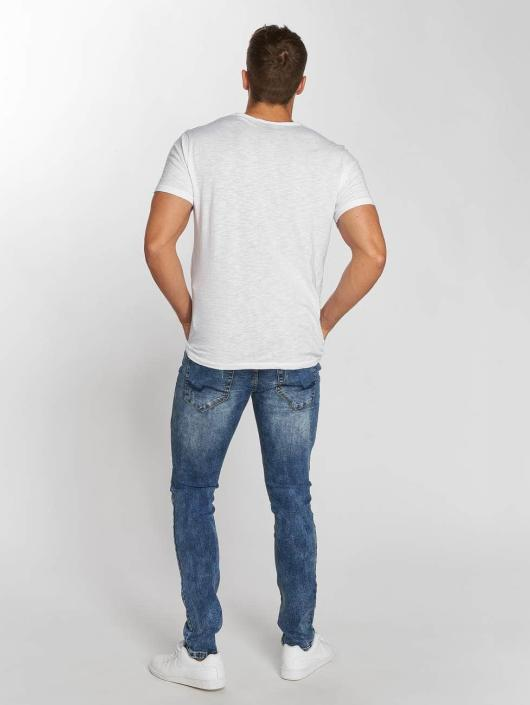 Aarhon Straight Fit Jeans Dark Washed blau
