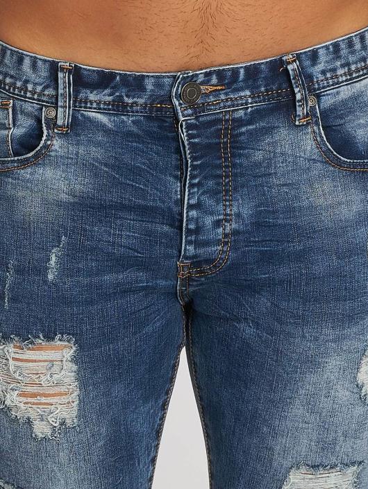Aarhon Straight fit jeans Dark Washed blauw
