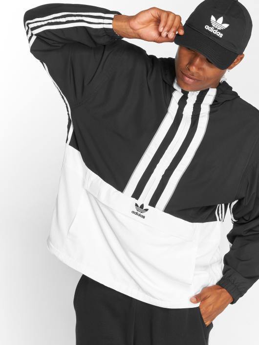 adidas originals Демисезонная куртка Auth Anorak Transition черный