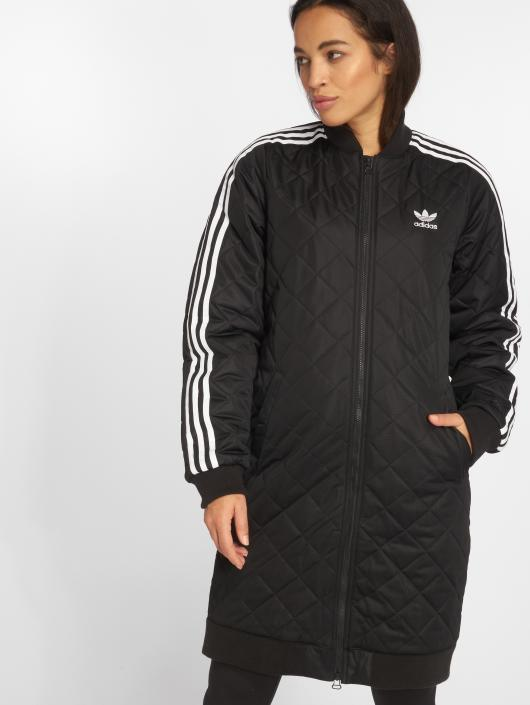 adidas originals Куртка-бомбардир Originals Long Bomber черный