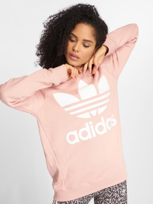 adidas originals Пуловер Oversized Sweat розовый