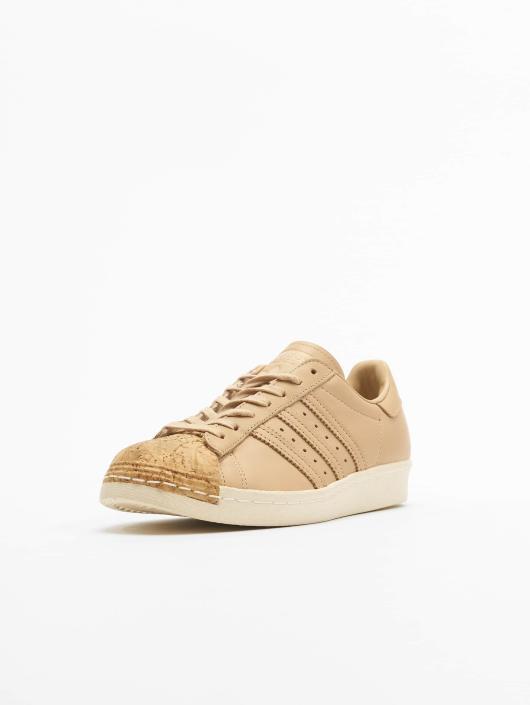 Beige Superstar 3qs5arjc4l 80s 553197 Femme Adidas Originals Baskets DWYEH29I