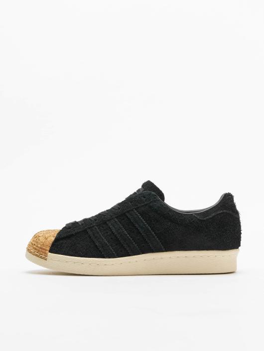 Chaussures Adidas Superstar 80S Cork W Beige Achat Vente