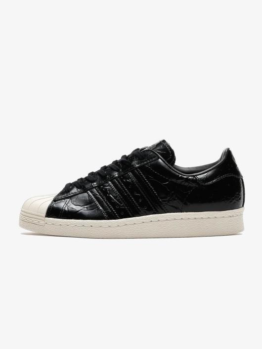 adidas originals superstar 80s animal noire