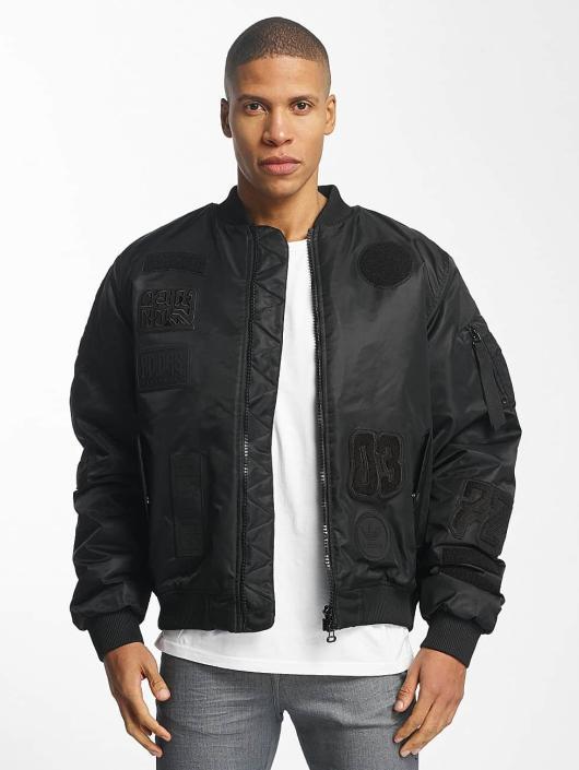 Padded Noir Adidas Originals Bomber 360513 Homme Logo qaFAwgFE