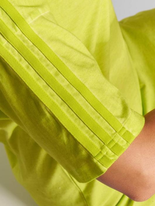adidas originals Dress Long Neon yellow